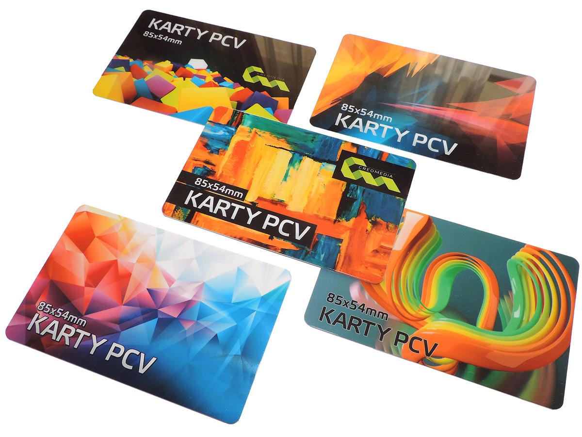 Karty plastikowe biznes z własnym nadrukiem